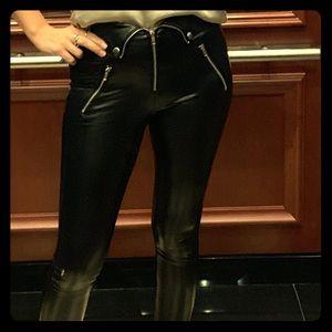 Gorgeous leather leggings